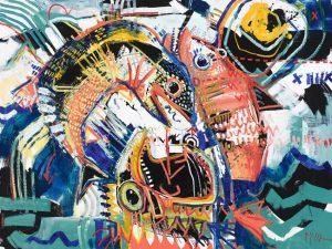 Fishes McClendon Fine Art Modern Fine Art Asheville Painting