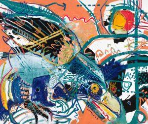 Philippine Eagle McClendon Fine Art Modern Fine Art Asheville Painting