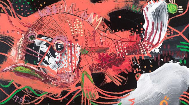 Snapper McClendon Fine Art Modern Fine Art Asheville Painting