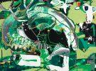 Wapiti Deer mcclendon modern fine art asheville nc