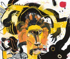 Lions McClendon Fine Art Modern Fine Art Asheville Painting