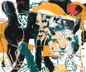 Lynx McClendon Fine Art Modern Fine Art Asheville Painting