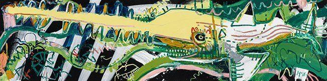 sawfish McClendon Fine Art Modern Fine Art Asheville Painting