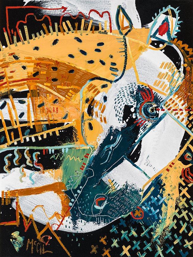 stallion McClendon Fine Art Modern Fine Art Asheville Painting