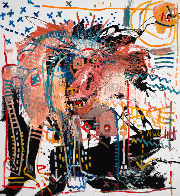 Baboon II Painting by Daniel McClendon, Ashevill