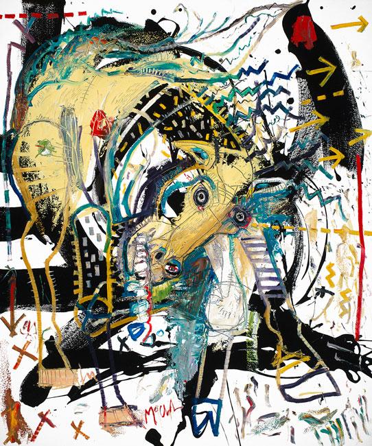 Horse IV Painting by Daniel McClendon Fine Art