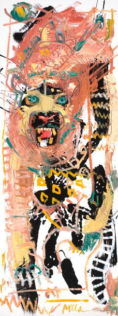 Leopard by Asheville artist Daniel McClendon