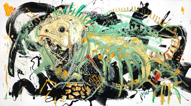 Marine Iguana by Daniel McClendon