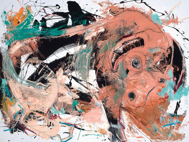 Bull II by Daniel McClendon Asheville