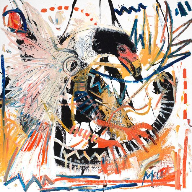 Serpent Eagle Painting by Daniel McClendon